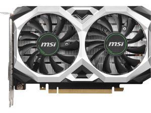 MSI GeForce GTX 1650 SUPER DirectX 12 GTX 1650 Super Ventus XS OC 4GB 128-Bit GD