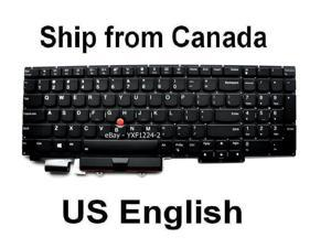 Keyboard for Lenovo Thinkpad E15 20RD 20RE - US English - Year 2020