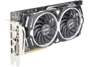 MSI Radeon RX 580 DirectX 12 RX 580 ARMOR 4G OCV1 4GB 256-Bit GDDR5 PCI Express