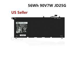 New OEM 7.4V 56WH Replacement Laptop Battery for Dell XPS 13-9343 13-9350 JD25G JHXPY RWT1R 5K9CP 0N7T6 90V7W 090V7W 0DRRP 00DRRP - 12 Months Warranty!