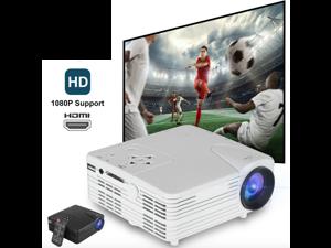 Portable Mini Projector Full HD 1080P LED Home Theater Cinema HDMI VGA USB AV SD