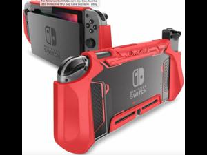 For Nintendo Switch Console Joy-Con, Mumba 360 Protective TPU Grip Case Dockable