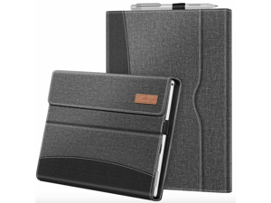 For Microsoft Surface Pro 7 6 5 4 12.3'' Multi-Angle Case Cover w/ Pocket