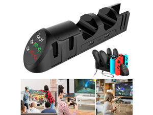 Fast Charger Charging Dock Station For Nintendo Switch Joycon Controller Gamepad