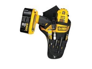 DeWalt DG5120 - Heavy-Duty Cordless Drill Holster Tool Belt Pouch w/Bit Holder