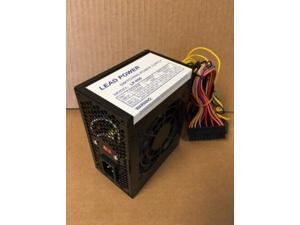 Lead Power Black 650w-Max Micro ATX Power Supply 20+4pin, SATA & PCIe