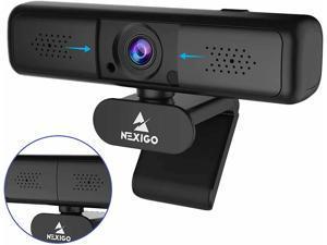 2K QHD Webcam with 3X Digital Zoom and Privacy Cover, 2020 NexiGo N650 1440P USB