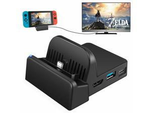 NEW Portable Desktop Charging Dock Stand for Nintendo Switch