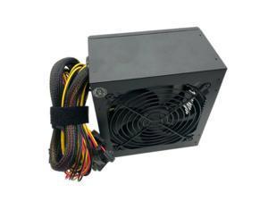 600 WATT 600W POWER SUPPLY PSU Brick for Intel AMD System Quiet 12CM Fan SATA