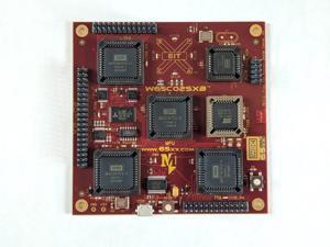 W65C02SXB Engineering Development Board Featuring The W65C02S 8-bit Microprocessor, W65C21 PIA, W65C22 VIA and W65C51N ACIA