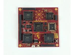 W65C816SXB - WDC Xxcelr8r Engineering Development Board Featuring The W65C816S 8/16-bit Microprocessor, W65C21 PIA, W65C22 VIA and W65C51N ACIA