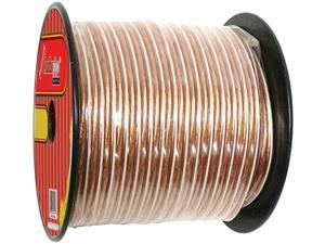 New Audiopipe Cable10clear300 10 Gauge Speaker Wire 300 Feet