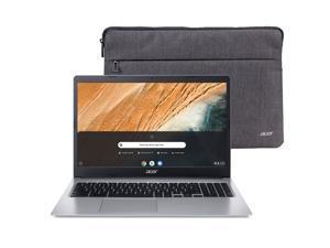 "Acer 315 15.6"" Celeron 4GB/32GB Chromebook, 15.6"" HD Display, Intel Celeron N4000, 4GB LPDDR4, 32GB eMMC, Protective Sleeve, Chrome OS"