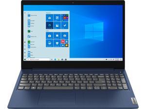 "Lenovo IdeaPad 3 Notebook, 15.6"" HD Touch Display, Intel Core i3-10110U Upto 4.1GHz, 8GB RAM, 256GB NVMe SSD, HDMI, Card Reader, Wi-Fi, Bluetooth, Windows 10 Pro S Model"