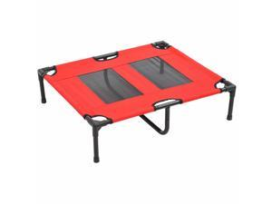 CYBER MONDAY SALE Elevated Pet Bed Dog Cat Cooling Cot Cozy Camping Sleeper