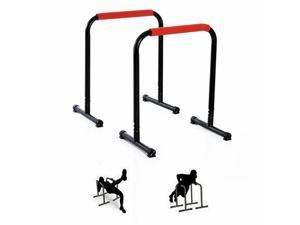 Push Up Stands Parallel Strength Training Exercise Bars Workout Home Gym
