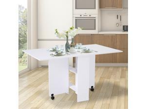 Folding Dining Table Kitchen Desk Multifunctional Expandable