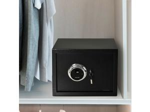 Steel Fingerprint Safe Box with Removable Shelf for Home, Office, 7.1gallon