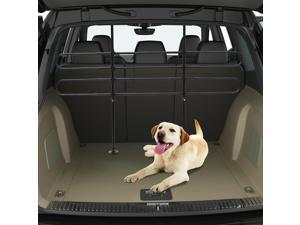 Adjustable Pet Car Barrier Auto Vehicle Dog Fence Guard Safety Gate Black