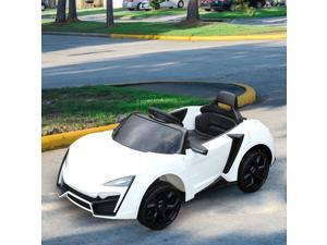CYBER MONDAY SALE Ride On Car for Kids 6V with Remote Control White