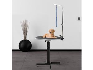 CYBER MONDAY SALE   Foldable Pet Dog Grooming Table w/ Adjustable Arm