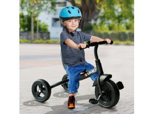 Baby Tricycle Toddler Trike Bike Ride On Steel Frame Kids Activity Sports