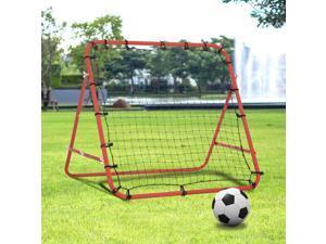 Rebounder Net Kids Football Training Aid Soccer Kickback Target Goal Play