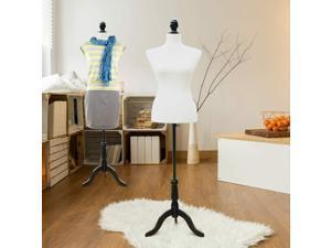 Dress Form Female Mannequin Torso Dressmaker Stand Display