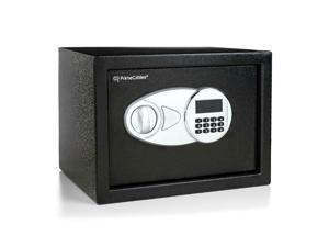 0.5 Cubic Feet Electronic Security Safe Box Emergency Override Keys