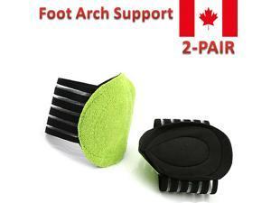 2Pair Sport Cushioned Arch Foot Support Brace Decrease Plantar Fasciitis Pain