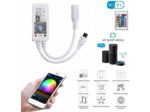 Smart WiFi Controller for WRGB LED Strip Light Music Controller for IR RF Remote