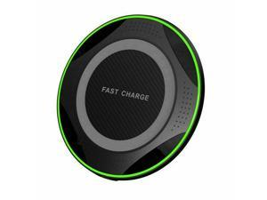 Luxury Qi Fast Wireless Charger For  Galaxy S10 Plus S9 S8 S7 Note iPhone