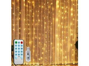 300 LED Curtain String Light USB Powered LED Lights Christmas Decoron Party