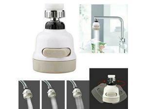 Faucet Nozzle 360 Degree Aerator Head Swivel Tap Water Saving Brass Sprayer Sink