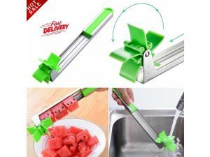 Watermelon Slicer Cutter Stainless Steel Windmill Cutter Knife for Home Fruit