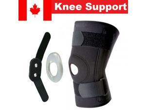Stabilising Knee Support, Hinged Knee Brace with Patella For Meniscus Injuries