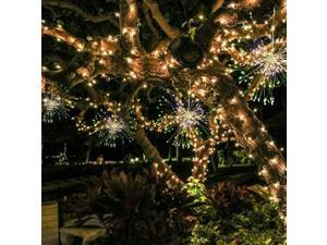 150 LED Firework Light Copper Wire Fairy String Lights Christmas Party Decor