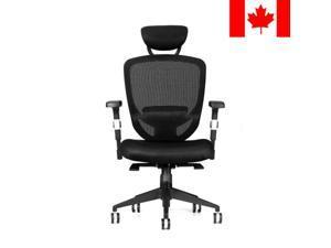 Mesh Mid-Back Swivel Office Task Computer Chair W/ArmrestHeadrest Arm/Head Rest