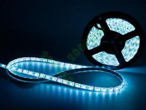 RGB 5M LED Strip Light 300 Leds 44 key Remote Power Supply 15 Ft Waterproof