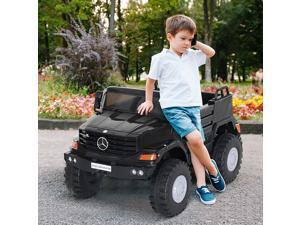 CYBER MONDAY SALE Kids Mercedes-Benz Zetros Electric Car and Sound w/ Headlights