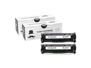 ® 2PK 312X CF380X Black Toner Cartridge For  MFP M476dn M476dw M476nw