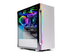 Skytech Archangel Gaming Computer PC Desktop – Ryzen 5 3600 3.6GHz, GTX 1650 4G, 500GB SSD, 8GB DDR4 3000MHz, RGB Fans, Windows 10 Home 64-bit, Wraith Cooler, 802.11AC Wi-Fi