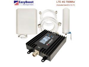 LTE 4G 700Mhz Cellphone Signal Booster Repeater Smart LCD Improve All Carriers 4G Data  Included (AT&T,T-mobile,Verizon)