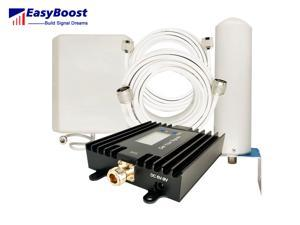 Anti Interference Signal Booster 850/AWS1700mhz smart LCD ALC/AGC For 2G 3G 4G Mobile Network