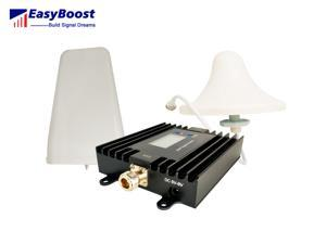 Dual band signal booster 850/AWS1700mhz smart LCD ALC/AGC ,anti-oscillation  cellphone signal repeater