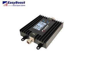 Dual band signal booster 850/1900mhz smart LCD ALC/AGC ,anti-oscillation  cellphone signal repeater