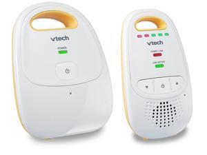 Audio Baby Monitor with up to 1,000 ft of Range, 5-Level Sound Indicator, Digitized Transmission & Belt Clip