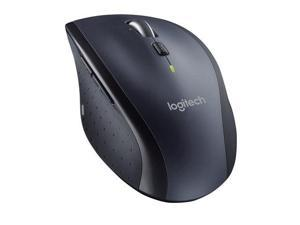 Wireless Mouse, New Logitech M705 Wireless Marathon Mouse , Hyper-fast scrolling ,Sculpted, right-hand shape, tiny Logitech Unifying receiver, Comes with two AA batteries