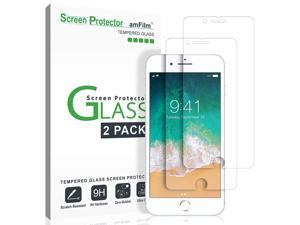 """2 Pack Glass Screen Protector for iPhone 8, 7, 6S, 6 (4.7"""")(2 Pack) Tempered Glass Screen Protector"""