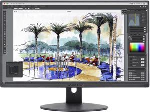 """Sceptre 27"""" Ultra Thin 1080P LED Monitor 2X HDMI VGA Build-in Speakers, Metallic high resolution 1920 x 1080, Refresh rate up to 75Hz, VESA wall mount pattern, 1000:1 contrast ratio"""